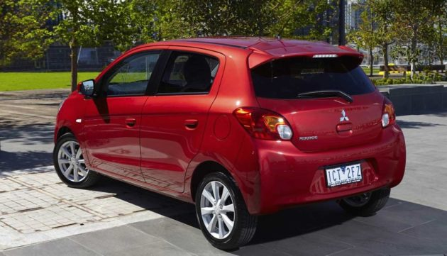 Mitsubishi Mirage Facelift 2015 With Better NVH