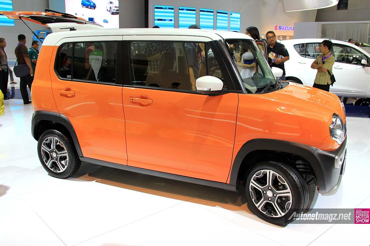 Mobil kecil mungil imut cocok untuk anak muda Suzuki Hustler
