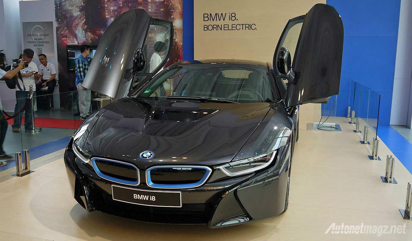 Mobil listrik BMW i8 di Indonesia IIMS 2014