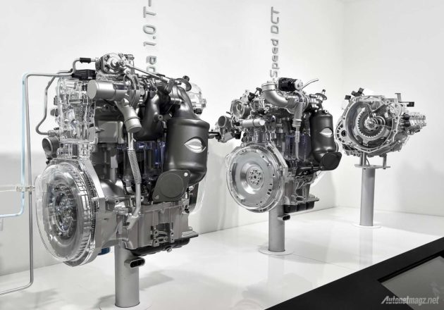 New Hyundai Kappa engine 1.0 liter and 1.4 liter with turbocharger