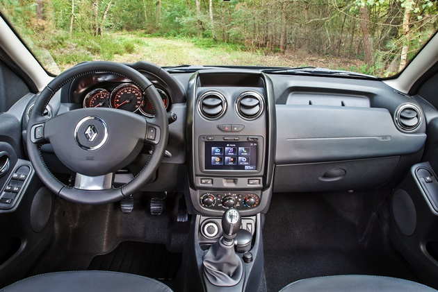 Renault Duster Facelift Indonesia Dashboard