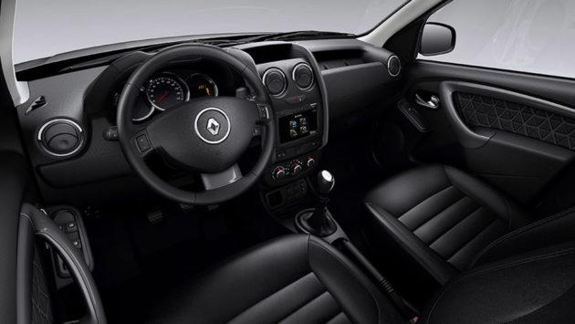 Renault Duster Facelift Indonesia Interior