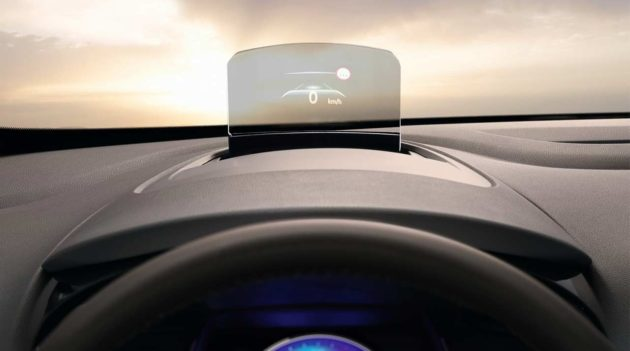 Renault Espace 2015 Head Up Display