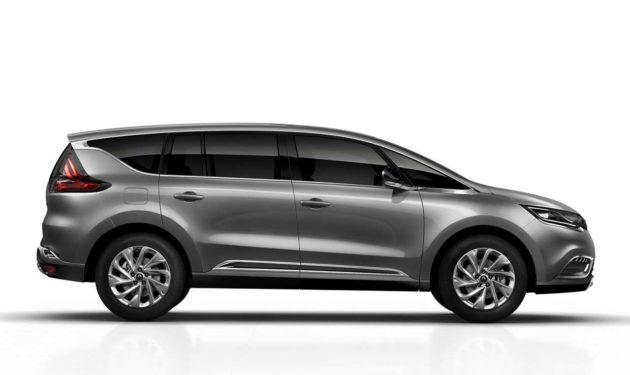 Renault Espace 2015 Size Dimension