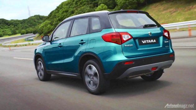 Suzuki Vitara model baru tahun 2015