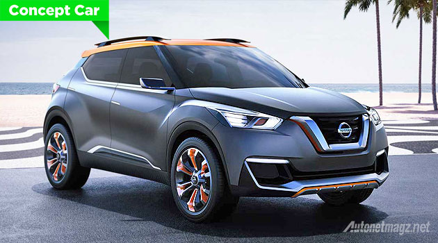 mobil crossover Nissan Kick 2015