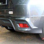 Bodi kit bumper belakang Toyota Yaris TRD Sportivo 2014