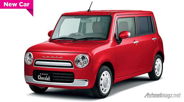 City car baru Suzuki Alto Lapin Chocolat-X 2015