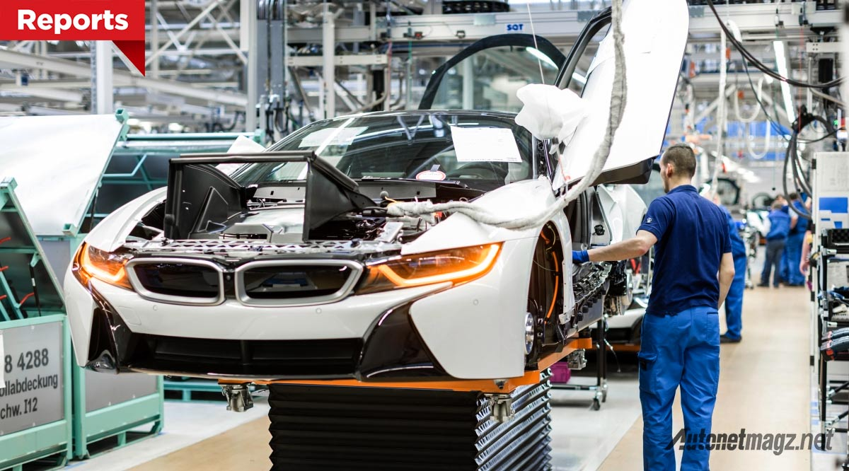 Laris Manis Produksi Supercar Hybrid Bmw I8 Dilipat Gandakan