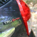 Emblem TRD Toyota Yaris Indonesia 2014