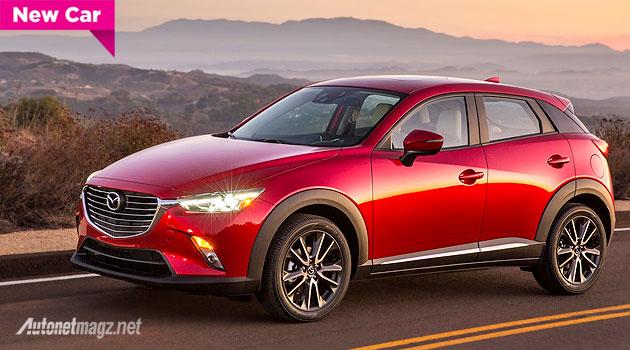 Harga foto dan spesifikasi Mazda CX-3 small SUV crossover Mazda 2015 - 2016