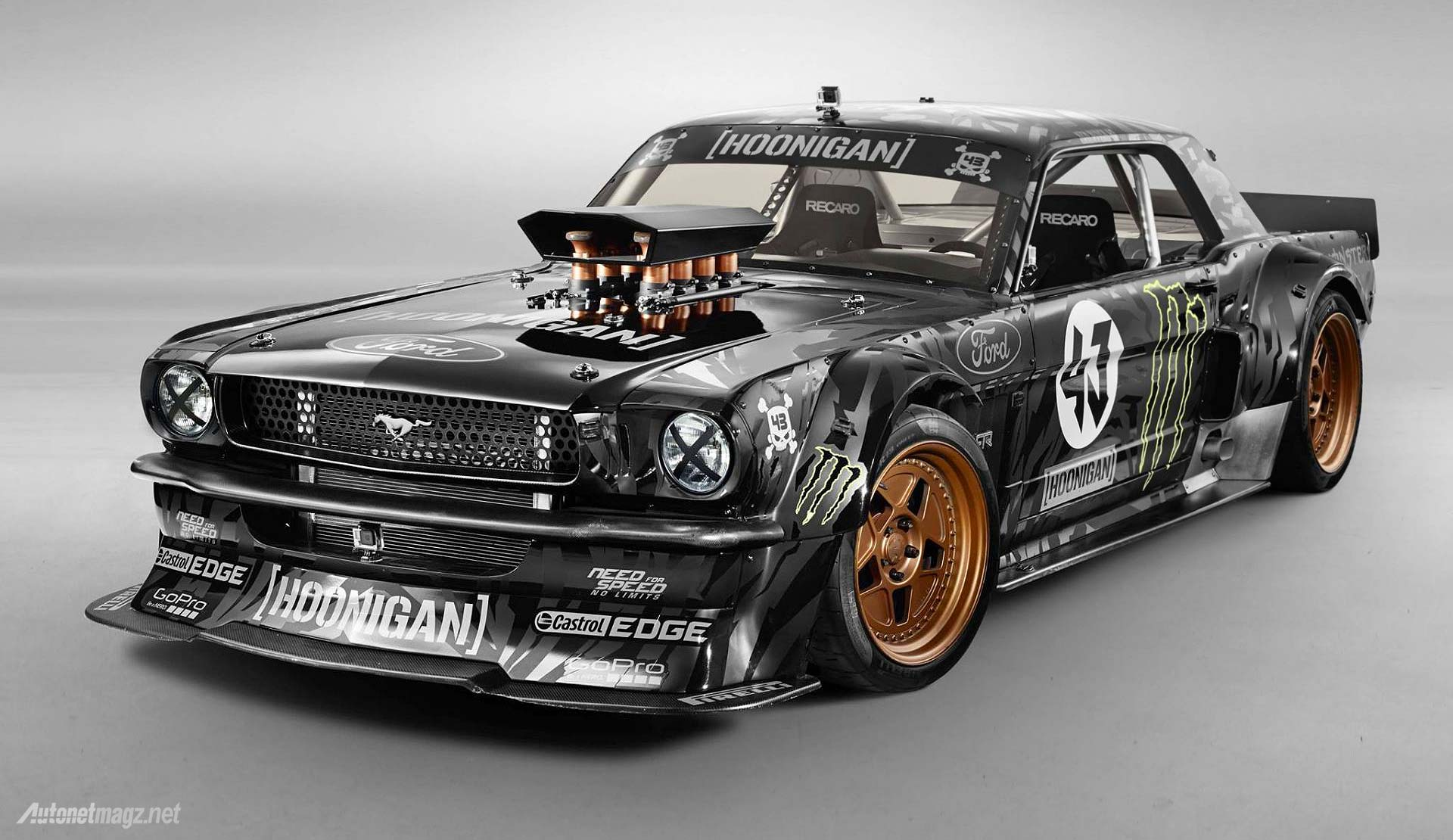 Ken Block Gymkhana new car Ford Mustang wallpaper
