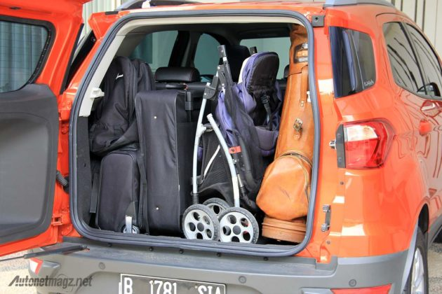 Luas bagasi Ford EcoSport