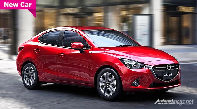Mazda 2 SkyActiv sedan 2015