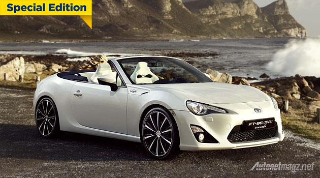 New Toyota 86 Turbo Convertible 2015