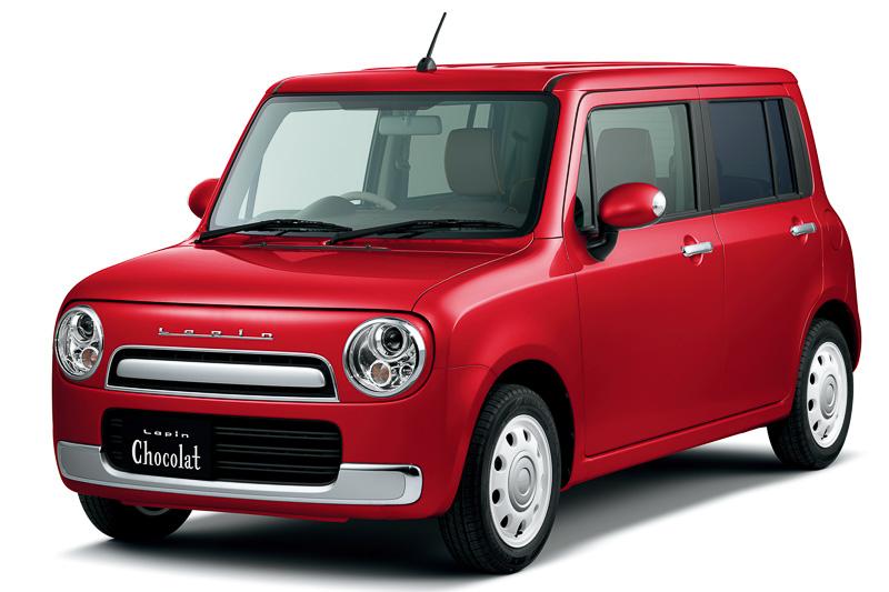Suzuki Alto Lapin Chocolat X Red