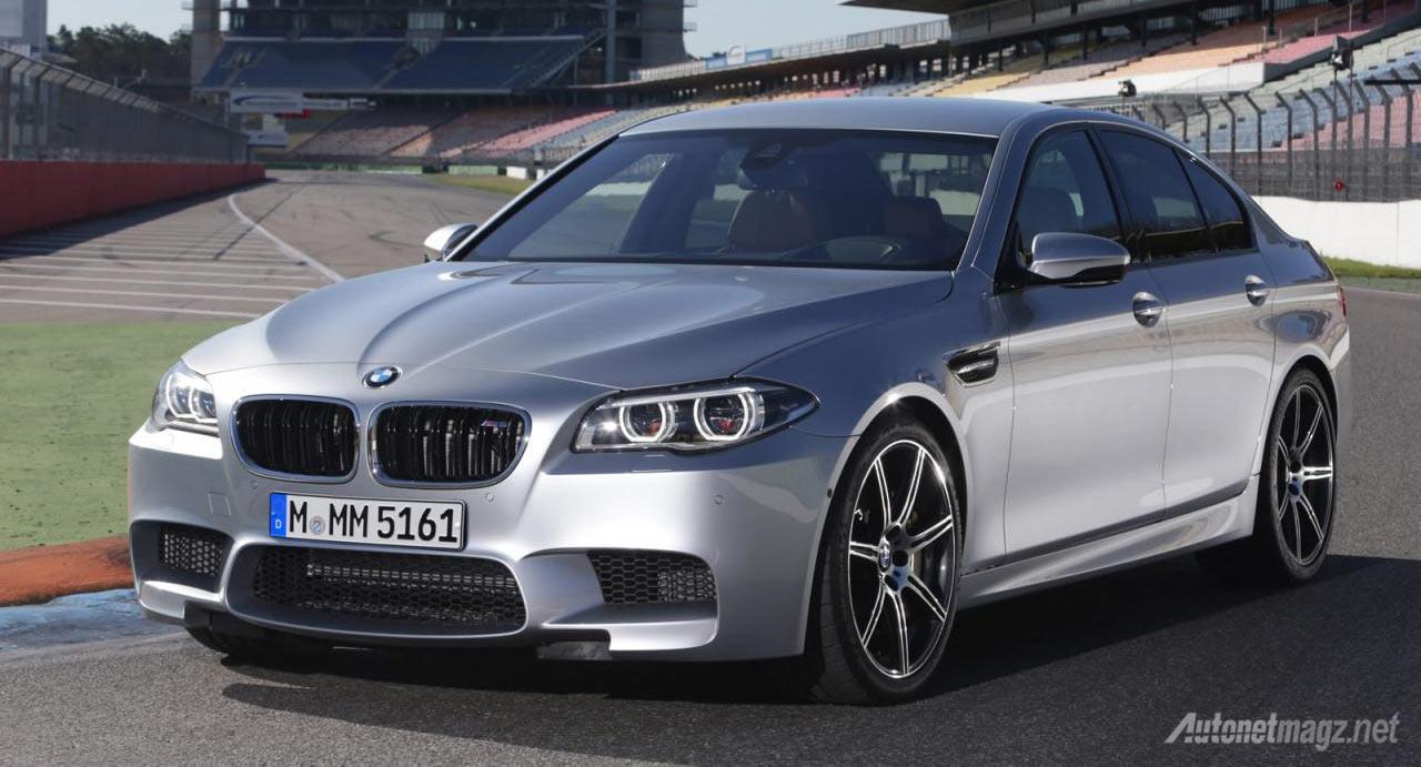 BMW-M5-Silver