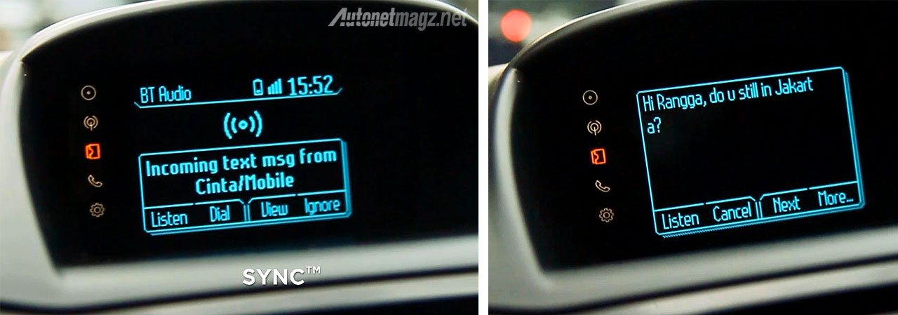 Advertorial, Cara kerja Ford SYNC audio baca SMS: Bedah Fitur Teknologi Ford SYNC™