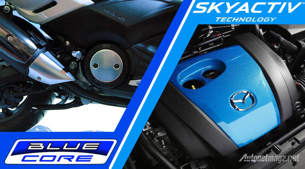 Blue Core Yamaha Adalah