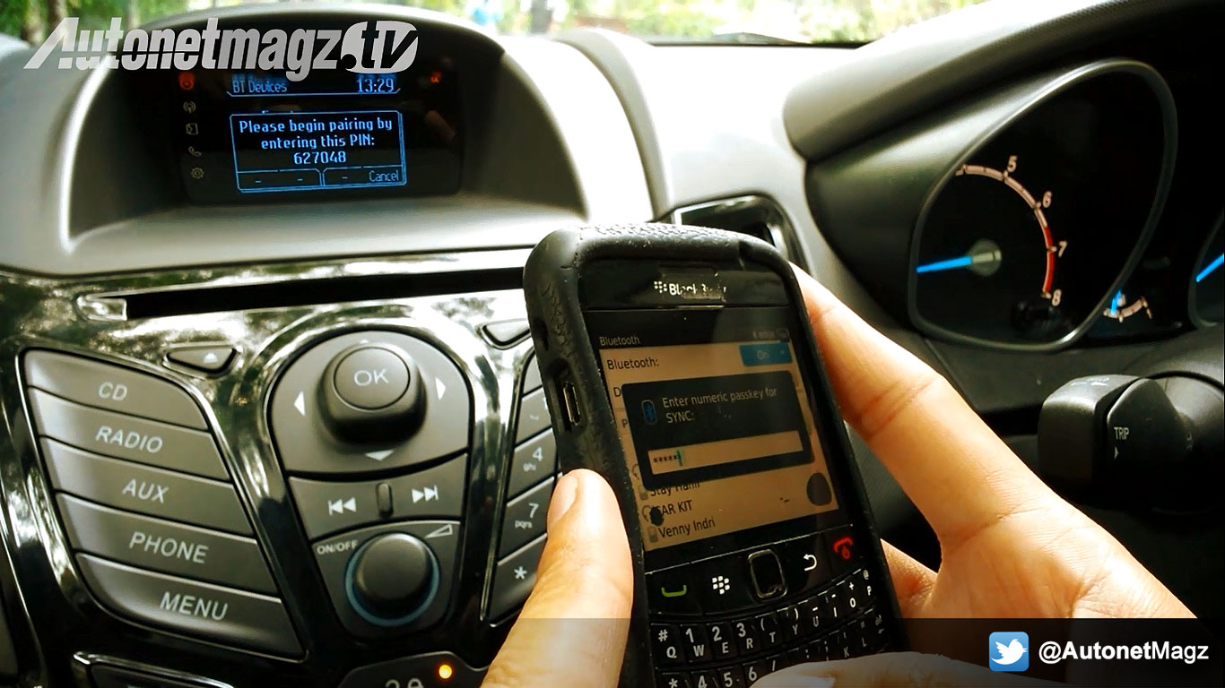 Ford SYNC Technology di New Ford Fiesta bisa koneksi Bluetooth