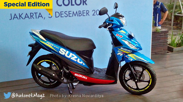 Harga Suzuki Address versi MotoGP striping