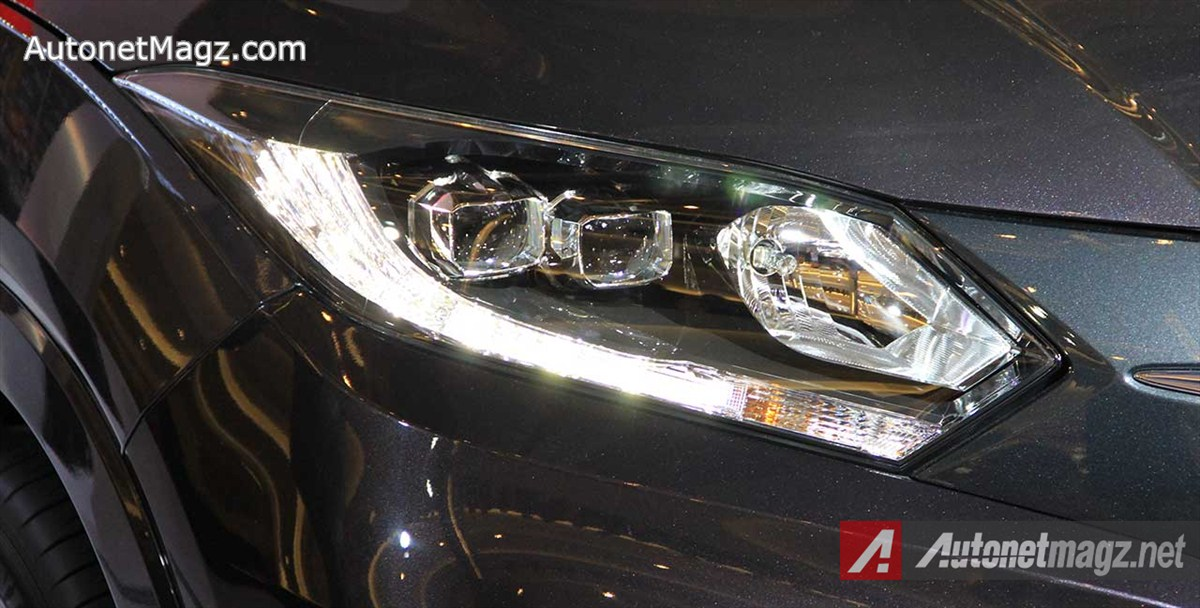 Honda, Headlampe-Honda-HRV-Prestige-LED-DRL: First Impression Review Honda HR-V Prestige by AutonetMagz