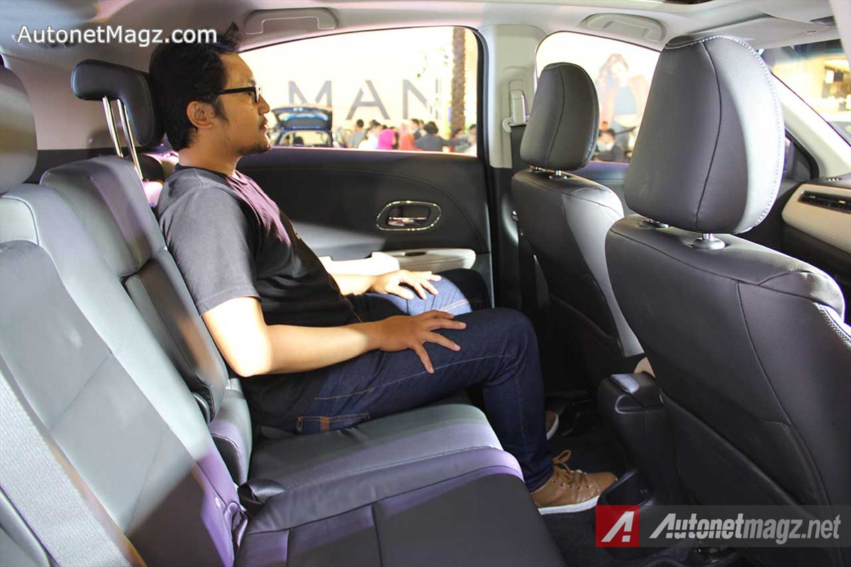 Honda, Honda-HRV-Prestige-Rear-Seat-Position: First Impression Review Honda HR-V Prestige by AutonetMagz