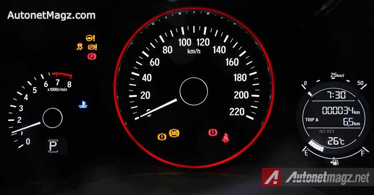 Honda, Honda-HRV-Prestige-Speedometer: First Impression Review Honda HR-V Prestige by AutonetMagz