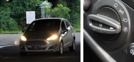 Keyless entry and push start stop engine button New Ford Fiesta