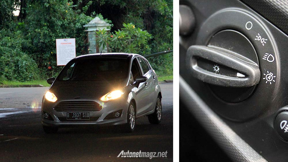 Advertorial, Lampu otomatis automatic headlights New Ford Fiesta: Yang Serba Otomatis di Smart Hatchack New Ford Fiesta with Video