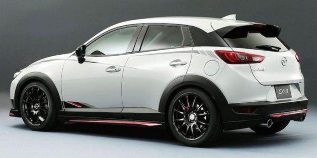 Mazda CX-3 Modif Tokyo Auto Salon