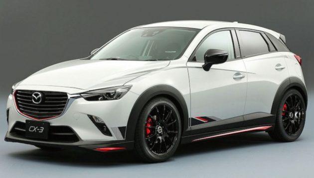 Mazda CX-3 Modifikasi