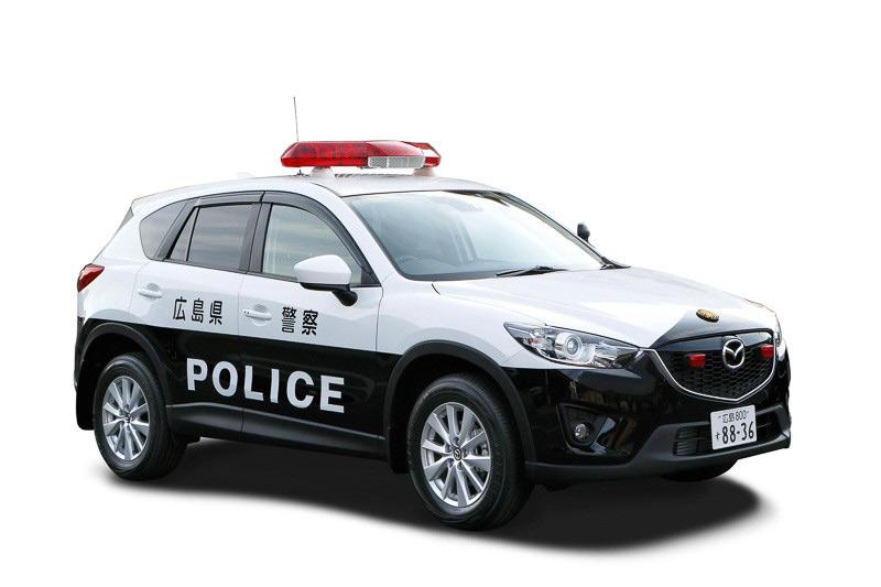 Mazda-CX5-mobil-polisi-di-Jepang
