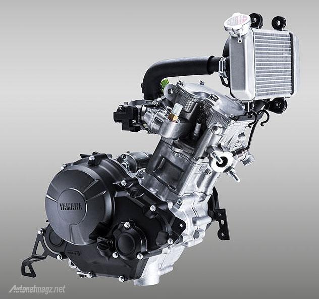 Mesin 150 cc injeksi Yamaha Exciter alias Jupiter MX baru 150cc 2015