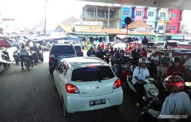 Mitsubishi Mirage Eco Fun Drive Palembang