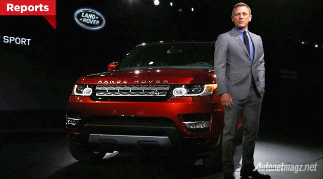 Mobil baru film James Bond terbaru Spectre hilang dicuri
