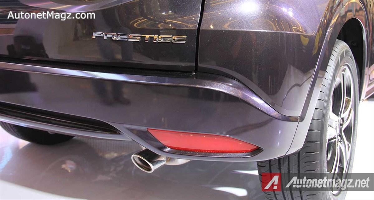 Honda, Muffler-Cutter-Honda-HRV-Prestige: First Impression Review Honda HR-V Prestige by AutonetMagz