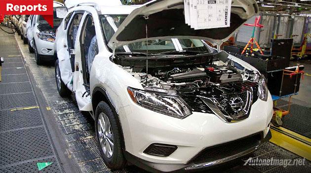 Nissan X-trail baru bermasalah di Jepang kena recall