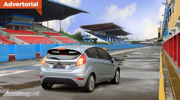 Test drive performa Ford Fiesta EcoBoost di Sirkuit Sentul