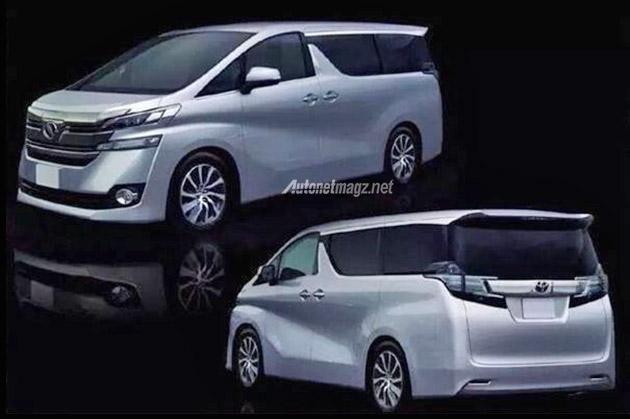 Toyota Vellfire baru 2015