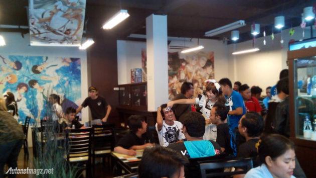 Ulang tahun ke-2 Itasha Indonesia di Lullaby Winds Anime Resto Jakarta