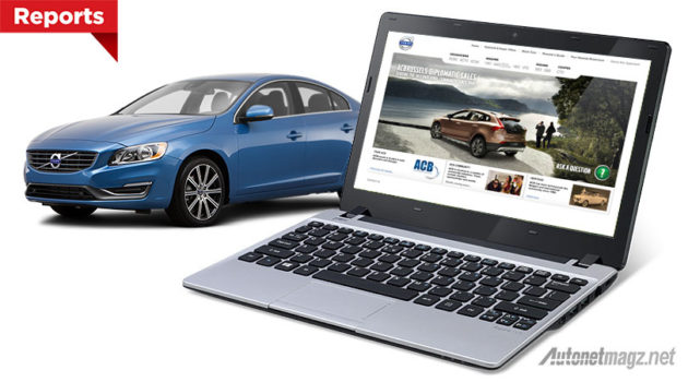 Website Volvo official site