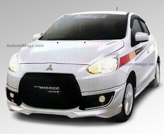 2015 Mitsubishi Mirage New Facelift