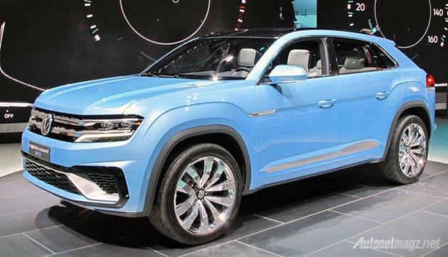 2015 VW Cross Coupe GTE Concept sudah mendekati versi produksi massal