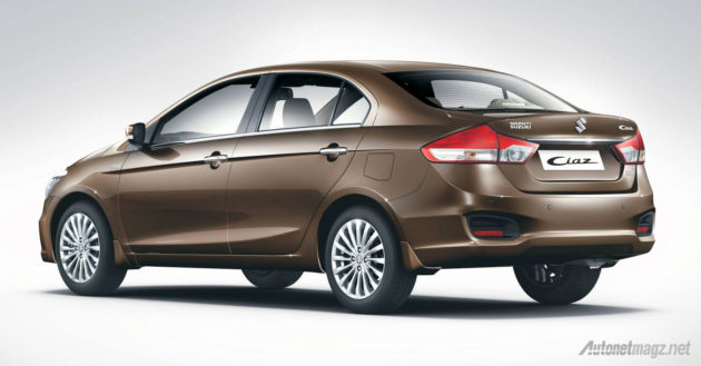 All New Baleno 2015 alias Suzuki Ciaz di India