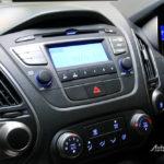 Audio OEM standar indash bawaan Hyundai Tucson XG tipe tertinggi