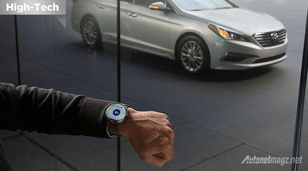 Blue Link Smartwatch Hyundai 2015