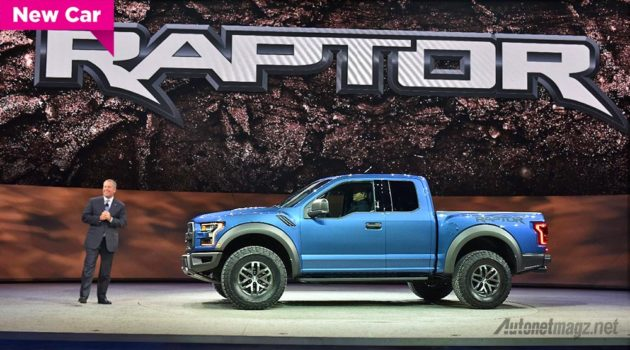 Double cabin Ford Raptor F-150 baru di NAIAS 2015
