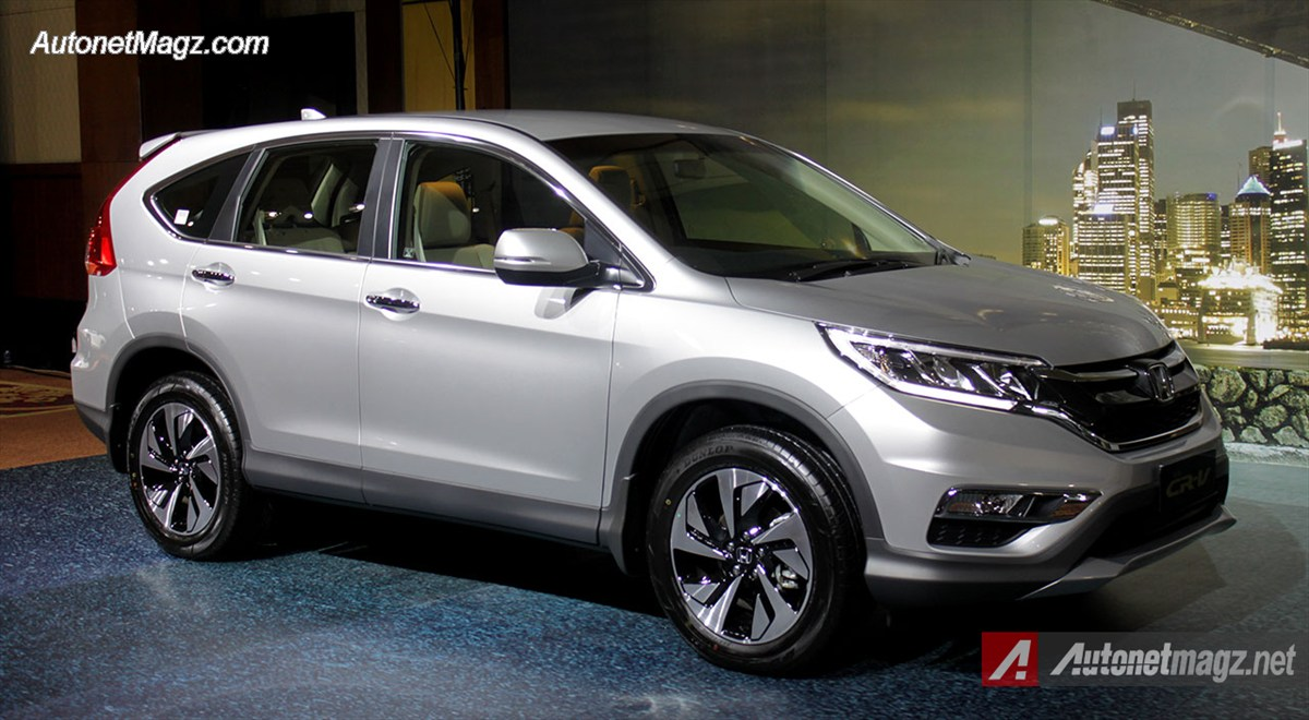 Honda, Honda-CRV-Facelift-2015: First Impression Review Honda CRV Facelift 2015 Indonesia