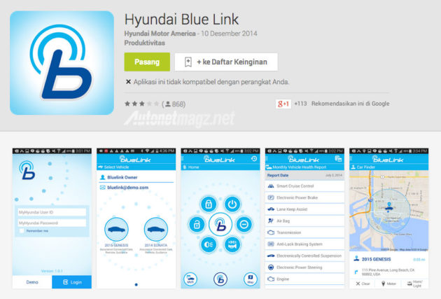 Hyundai Blue Link Apps Android